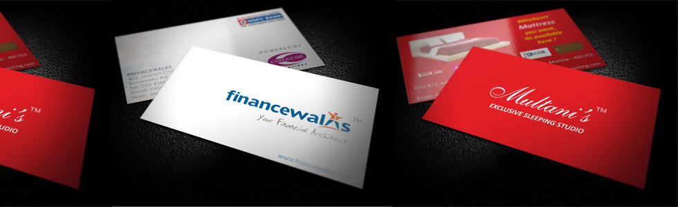 Designing printing website designing in mumbai business cards reheart Choice Image